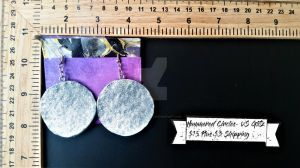 Hammered Disks-Glitz by TheTrueGypsyQueen