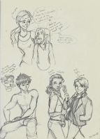 Percy Jackson- Kane Chronicle crossover by 13halloween