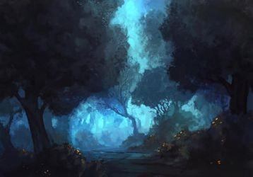 Blue Forest by mrNepa