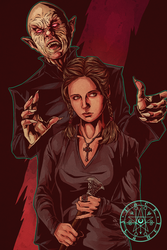 Buffy and the Master by aquiles-soir