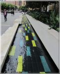 Darling Harbour Water Feature by JohnK222