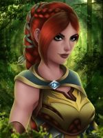 PALADINS - Cassie - New version by A--Nonyme