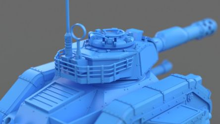 WH40k LemanRuss 2014 by pixelquarry