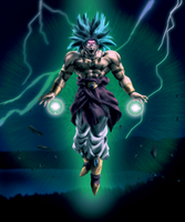 Broly legendary Super Saiyan by Shibuz4