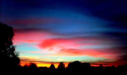Sunset by enervation