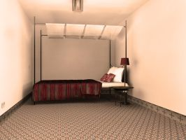 Moroccan Bedroom by Leichim
