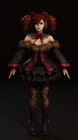 Amy Sorel Shader Test by Chrissy-Tee
