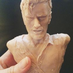 Ash vs Evil Dead - Fanart Figure  Work in Progress by minoanoa
