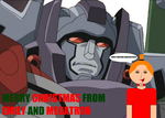 Megatron and Emily by EmilyScream133