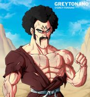 Majin Mr. Satan by Greytonano