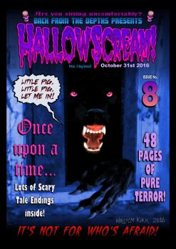 Hallowscream! 2016 front cover by MalcolmKirk