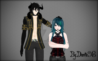 {MMD Picture} Taller than me by dianita98