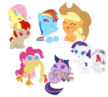 Small Ponies by Pacman552