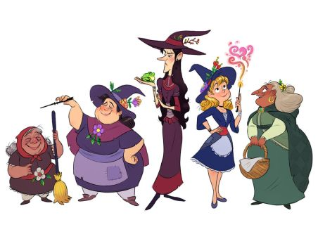 Witches by LuigiL
