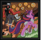 Shadowbox Mockup - Adversary (20 x 20) by The-Paper-Pony