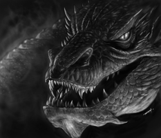 Smaug the Magnificent by RAM by robertmarzullo