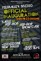 Filthalley Official Inauguration Flyers by HinataDesign