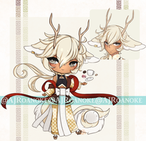 CLOSED Tea Dragon Babe Auction Adoptable by AJRoanoke