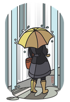 It's Pouring by ElfSama