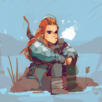 Chilly Ygritte by michaelfirman
