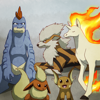 26. The Johto Force by Chibi-Pika