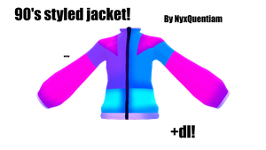 MMD| 90's Jacket +Dl by NyxQuentiam