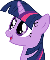Mlp Fim Twilight Sparkle (wow) vector by luckreza8