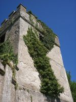 Upclose of old House Tower by LooneyInside