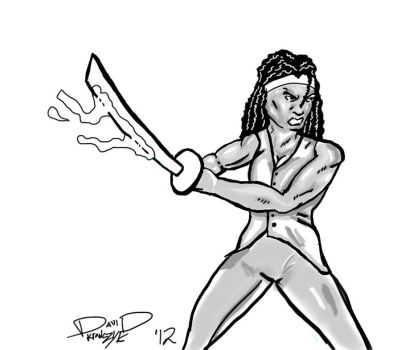 Michonne by funboy118