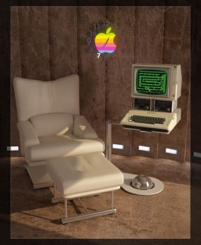 Apple II by milenplus