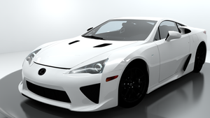 2010 Lexus LFA For XPS by noonenothing