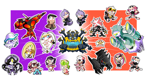 Pokemon Alola Sticker Set! (2 of 3) by BLARGEN69