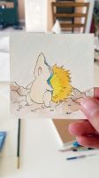 Little Cyndaquil: Watercolor #155 by AddyinWonderland
