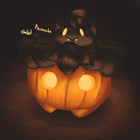 Pumpkaboo Light Study