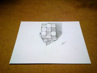 Rubik's Cube 3D by EvgenyS