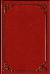 Classic red book cover by semireal-stock