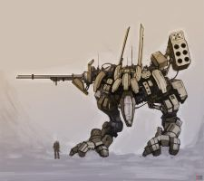 Mech sketch by rickystinger88