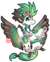 #923 Charity Mythical BB w/m - Northen Pegasus by griffsnuff