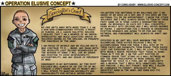 OEC - Specialist's Creed by MauserGirl