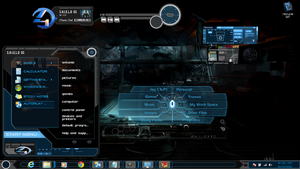 Windows 7 Themes Black Xux by newthemes