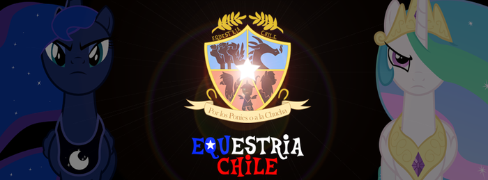 Banner Equestria Chile by SlyFoxCl