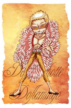 Don quichotte Doflamingo by F-ocube