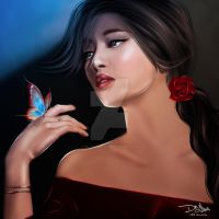 Silence of butterfly by DO-Artfolio