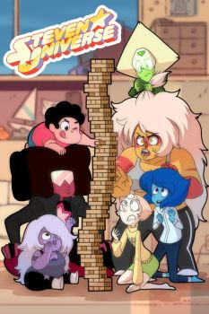(steven universe) jenga night!!! by carumbell