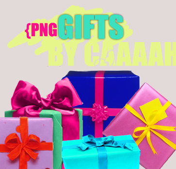 GIFTS png by caaaah