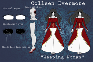 Colleen Evermore { Creepypasta OC } by Scarmmetry