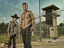 The Walking Dead: Rick and Carl: HDR Re-Edit by nerdboy69