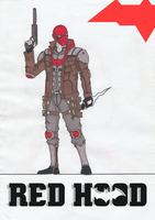 Red Hood REDESIGN by Julalesss