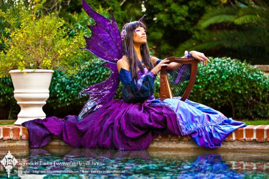 The Indigo Masquerade Fairy by Firefly-Path