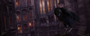 Nevermore by bluefuze
